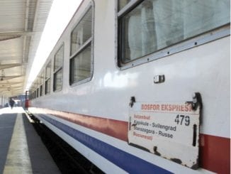 trenul de Istanbul