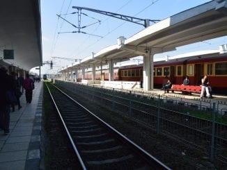 tren cu muncitori spre Austria cele mai aglomerate trenuri