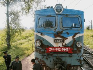 trenurile din Coreea de Nord