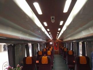 distanțare socială în trenuri vagoane modernizate la CFR Călători