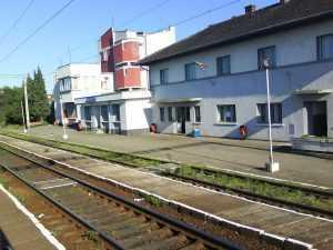 lucrări în stația Cluj-Napoca Est macazuri noi la Cluj Napoca