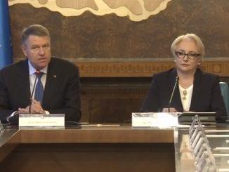 contre Dăncilă-Iohannis scandal Iohannis-Dăncilă