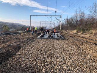 reparații la calea ferată lucrări la CFR