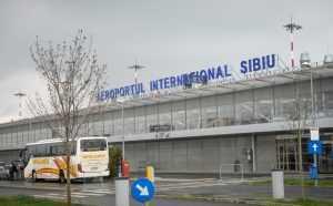 Salvarea Air France cale ferată la Aeroportul Sibiu