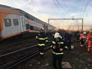 accidentul feroviar de la Ploiești trenuri s-au ciocnit