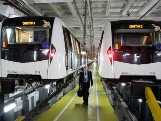 reviziile trenurilor de metrou licitația pentru mentenanța ramelor de metrou revizia la trenurile Bombardier acord Alstom-Metrorex