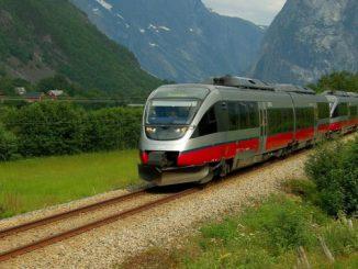 trenuri cu baterii în Norvegia