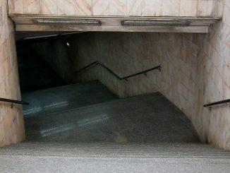 infiltrații la stația de metrou Grivița