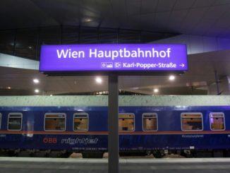 tren de noapte Viena-Bruxelles