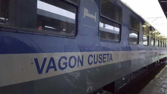 reparații la vagoane cușetă trenurile speciale pentru Austria Ordonanța Militară 2 nevăzător la vagonul cușetă