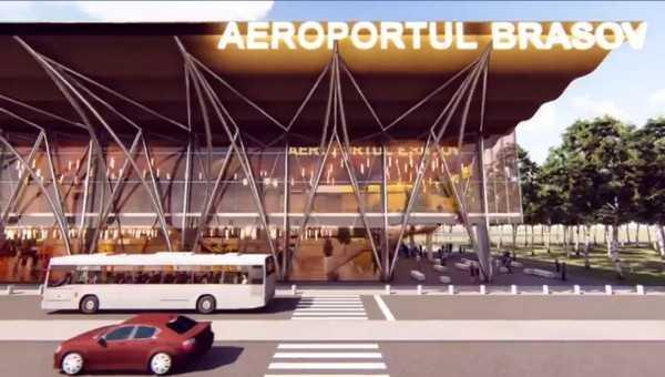 cale ferată la Aeroportul Brașov cale ferată la Aeroportul Brașov