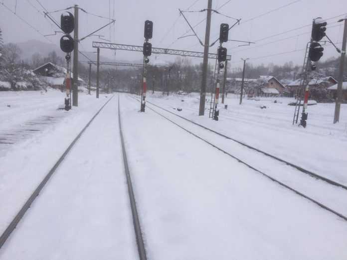 probleme în traficul feroviar