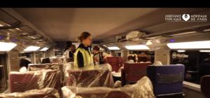 TGV sanitar tren sanitar pentru coronavirus