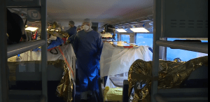 tren sanitar în Italia Primul TGV sanitar