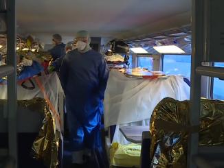 Primul TGV sanitar