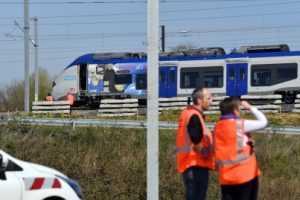 loviți de tren la Strasbourg