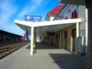 cale ferată la Buzău