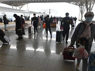 trenurile opresc în Wuhan