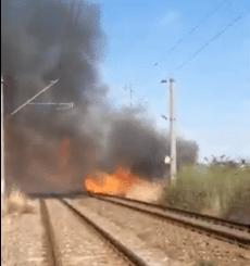 Incendierea vegetației este o practică răspândită și în România