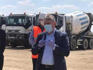 trenul de aeroport investiţii în transporturi șantierele de infrastructură feroviară tren de muncitori spre Austria