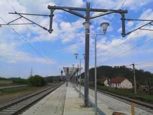 circulație feroviară oprită a fost inaugurată stația Săvârșin