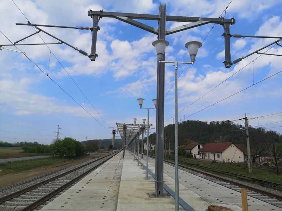 a fost inaugurată stația Săvârșin