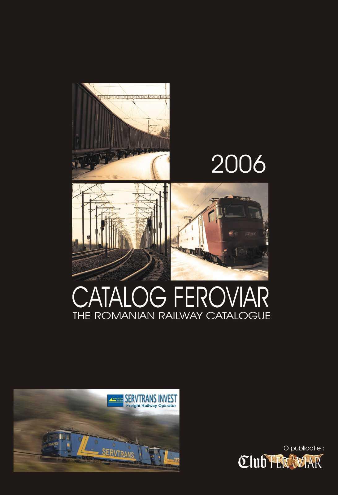 Catalog Feroviar 2006 - solutia de a te prezenta gratuit