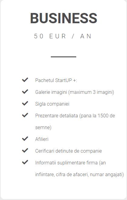 pachet business catalog