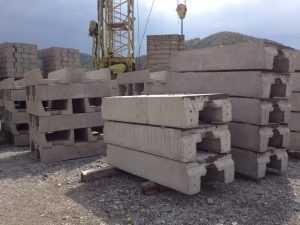 Elemente prefabricate pentru cai ferate