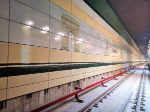 teste la metroul din Drumul Taberei