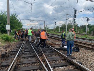 licitație pentru înlocuirea unui macaz licitații feroviare Proiectele feroviare din Moldova ridicare restricții de viteză licitație a CFR Călători