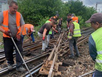 lucrări de reparații pe M800 tronsoanele feroviare propuse la reabilitare licitație pentru înlocuire macazuri restricții de viteză la Gura Motrului