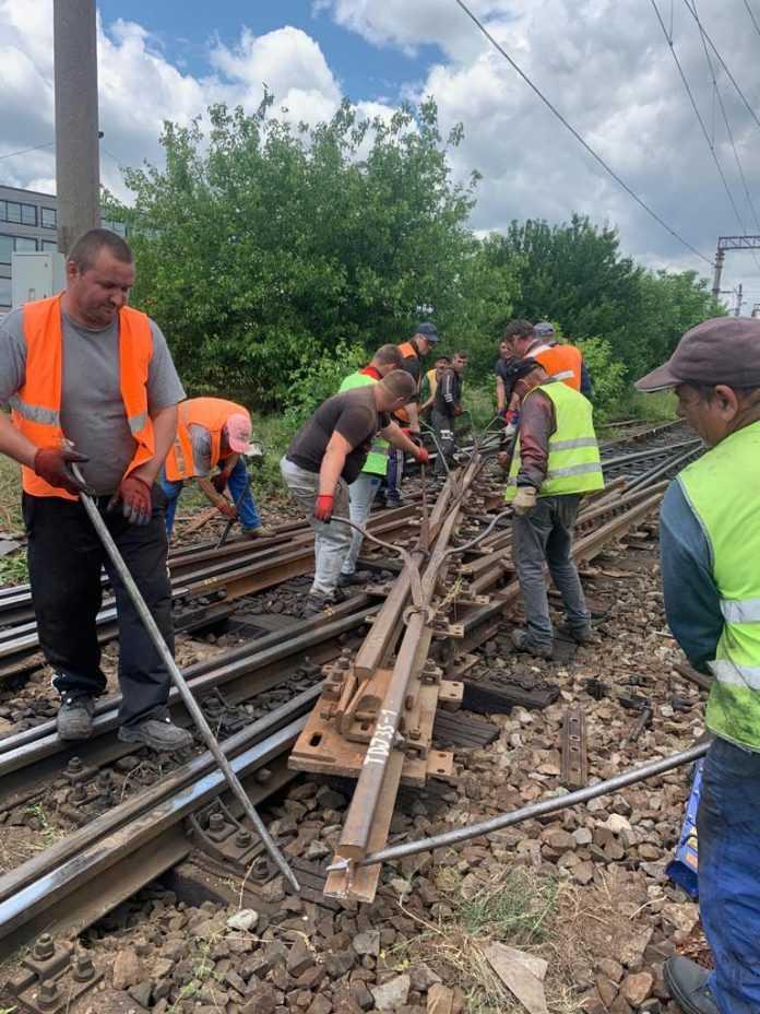 punct periculos pe calea ferată ridicarea restricțiilor de viteză lucrări de reparații pe M800 tronsoanele feroviare propuse la reabilitare licitație pentru înlocuire macazuri restricții de viteză la Gura Motrului