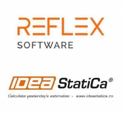 REFLEX Software SRL - proiectare eficientă structuri metalice, îmbinări din oțel și a tuturor elementelor din beton armat