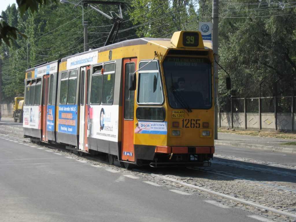 Tramvai TRANSURB S.A. Galați