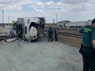 accident de tren în Spania