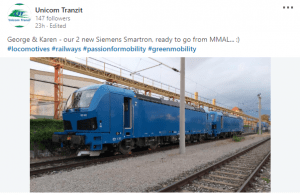 locomotive Siemens Smartron