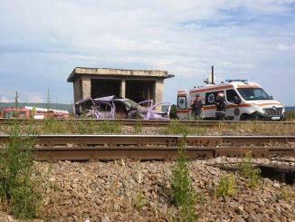 accident de tren la Adjud