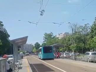 circulația autobuzelor pe linia de tramvai autobuzele pe linia de tramvai autobuzele pe linia de tramvai