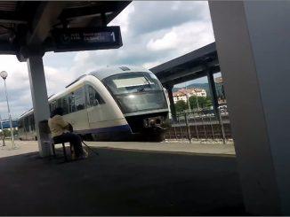 tren metropolitan la Râmnicu Vâlcea