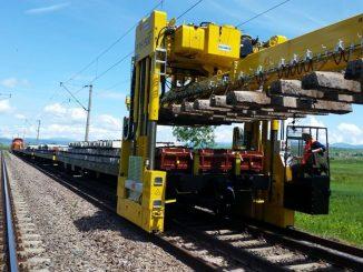 Trenul de lucru al CFR
