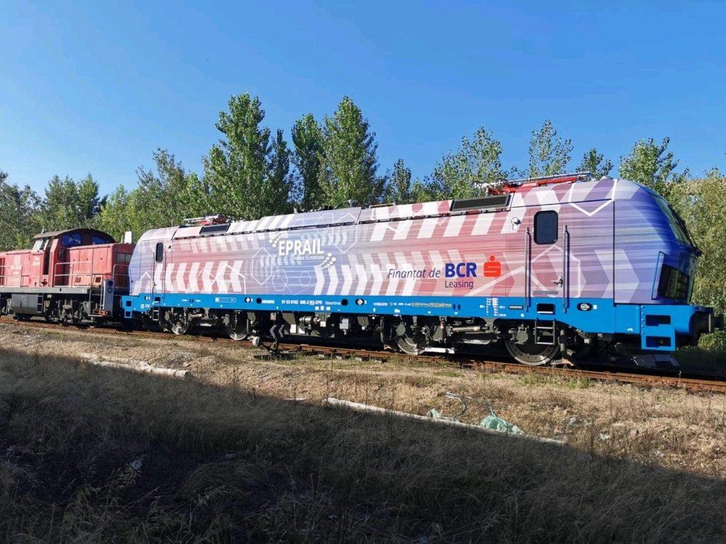 locomotive Siemens Smartron ale E-P Rail