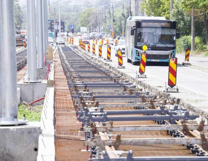 depou de tramvaie din Galați modernizarea liniilor de tramvai