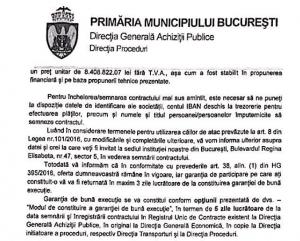 licitația pentru tramvaie din București
