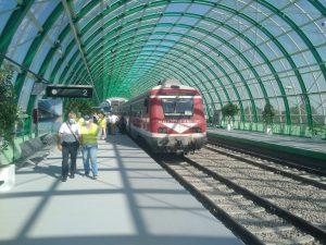 Trenurile de aeroport recepția pentru linia de Otopeni mersul trenurilor de aeroport trenul de aeroport