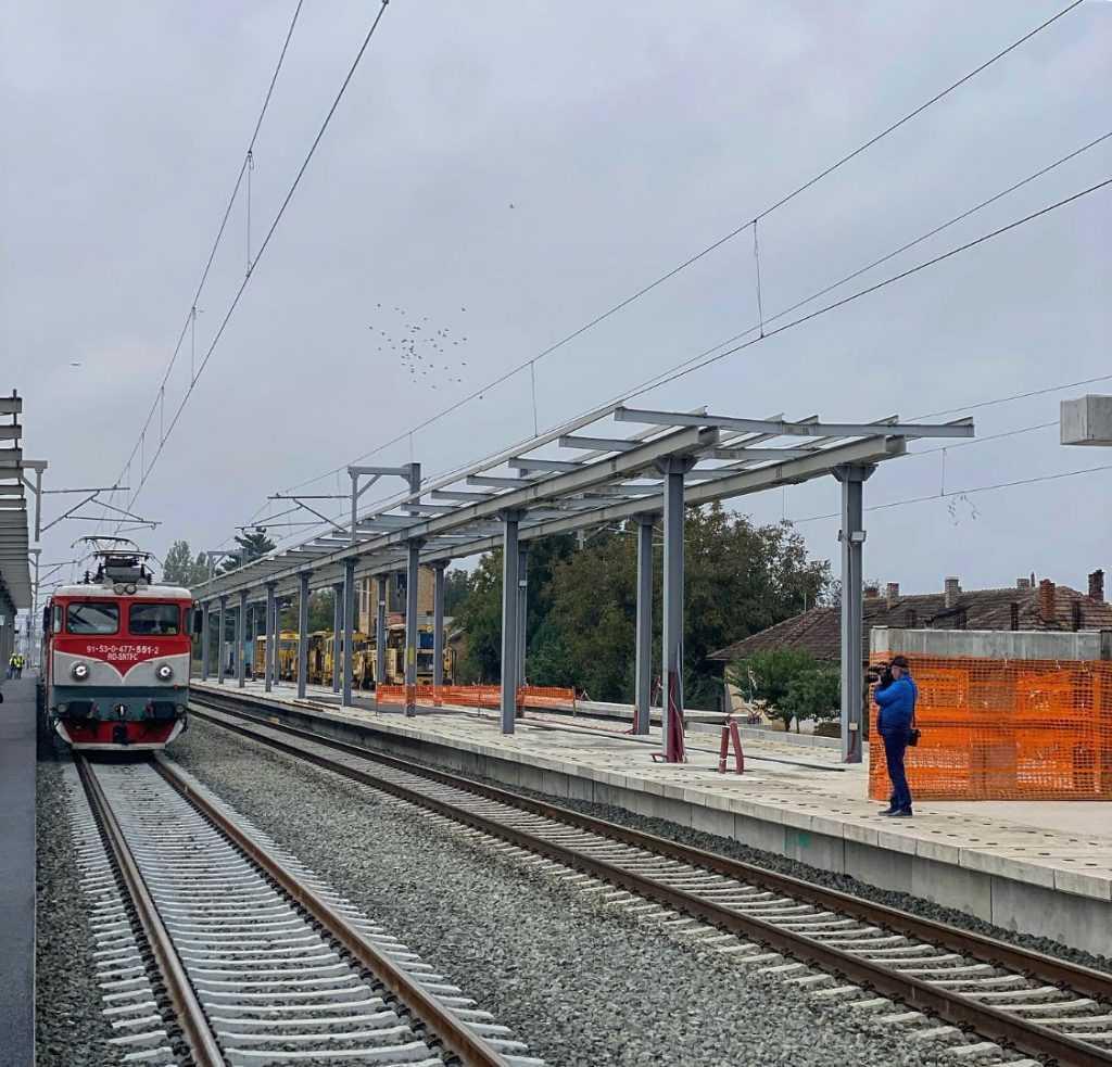 linie ferată modernizată