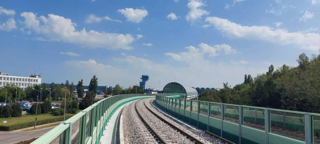 Procesul liniei de Otopeni calea ferată de aeroport