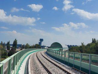 calea ferată de aeroport