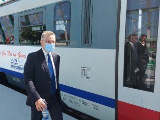 mersul trenurilor de aeroport Iohannis cu Săgeata Albastră