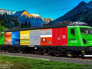 locomotivă nouă pentru Cargo Trans Vagon